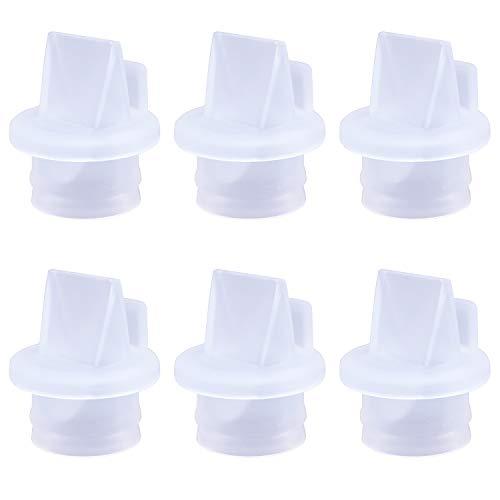 CNNIK Accesorios de sacaleches, Válvulas de pico de pato para la mayoría de los extractores de leche, Válvulas de pico de pato de...