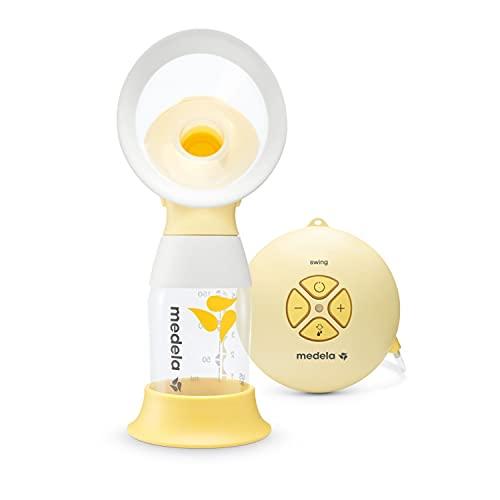 Medela Extractor de leche eléctrico individual Swing Flex - Diseño compacto, con embudos PersonalFit Flex y tecnología de extracción de...