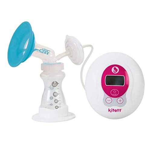 KITETT - Extractor de leche eléctrico portátil simple bombeo 30 mm (L)
