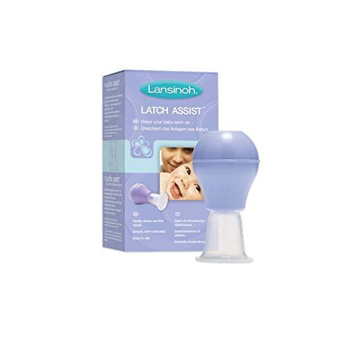 Evertidor de Pezón Latch Assist de Lansinoh, ayuda a evertir pezones planos o invertidos para mejorar la lactancia y el enganche del bebé...