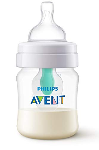Philips Avent SCF810/14 - Biberón anti cólicos con sistema patentado Airfree, 125 ml