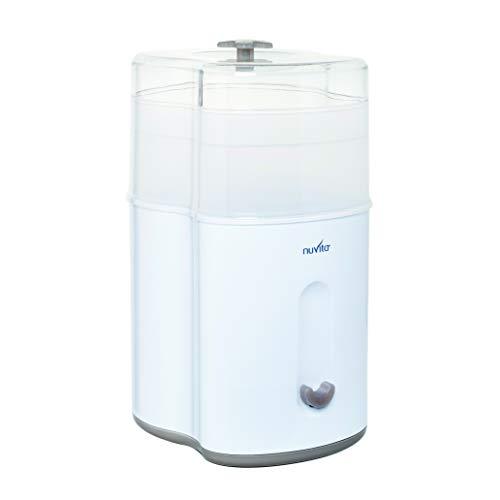 Nuvita 1082 – Esterilizador a vapor compacto – Esterilizador eléctrico de biberón – Caben hasta 5 biberones, tetinas y accesorios...