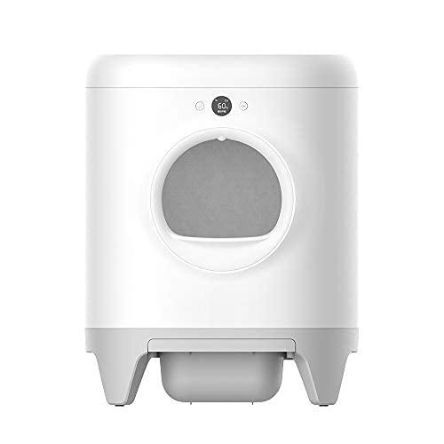 PETKIT Pura X Caja de Arena Intelligent autolimpiable, XSecure/Eliminación de olores/Control de App, Caja de Arena automática Buena para...
