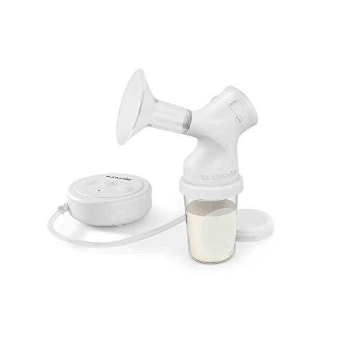 Suavinex - Pack Extractor eléctrico de leche materna con tetina anticólicos Zero Zero + 3 Bolsas almacenaje con tapón + Tarro almacenaje....