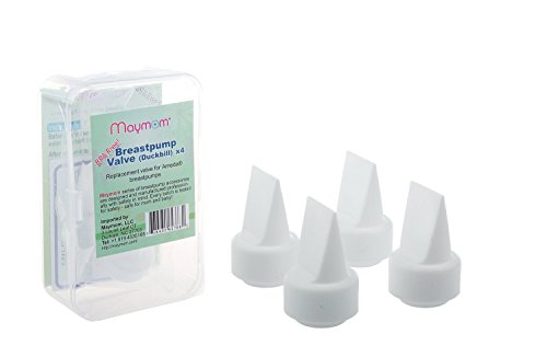 Maymom Pump Valve for Ameda Purely Yours Pumps, Duckbills to Replace Ameda Breast Pump Valves; Retail Packaging Sealed by Factory (4 pc) by...