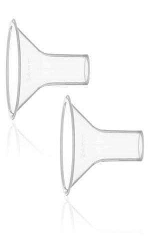 Medela 008.0330 PersonalFit - Embudo sacaleches, 2 unidades, talla XL