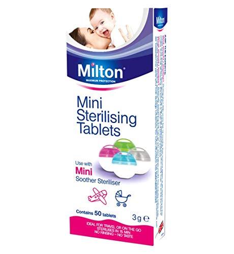Milton Mini Tabletas Esterilizadoras - Pastillas para esterilizar y desinfectar la Copa Menstrual Sileu - Ideales para usar con el...