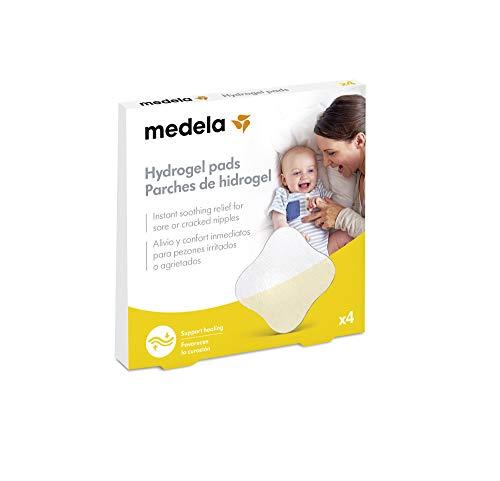 Medela - Parches de hidrogel para pezones, Paquete de 4