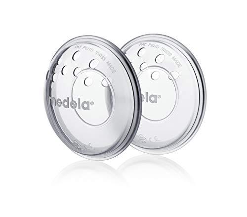 Medela - Protectores para Pezones Doloridos y Agrietados por la Lactancia, paquete con 2 unidades