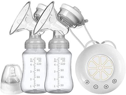 BBGSFDC Suministros de Leche eléctrico de la Bomba de ordeño de la Leche Materna e Infantil colector sacaleches eléctrico USB con...