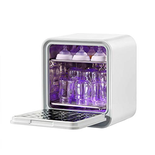 Kiwy Cube - Esterilizador UV con LED, esterilización rápida del 99,9 %, gérmenes y pilas, rayos ultravioletas, desinfección profesional,...