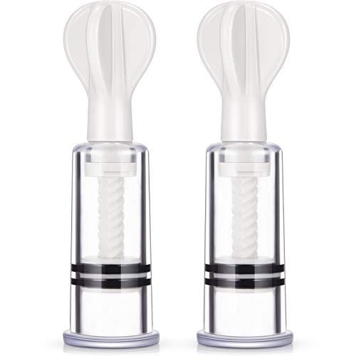 2 Chupas Pezones Copas de Pezones Aspirador de Pezón Extractores de Pezones para Cuidado de Lactancia o Chupadores de Pezones de Mamá para...
