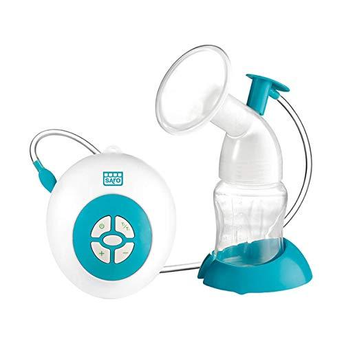 SARO – Extractor eléctrico de leche materna con adaptador de silicona, motor ultrasilencioso y función de succión automática. Recuerda...