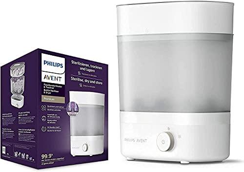 Philips Avent Scf291/00 - Esterilizador De Botellas Eléctrico A Vapor Para Hasta 6 Biberones, Tetinas Y Accesorios, Diseño Modular, Color...