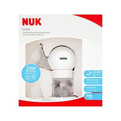 NUK Luna - Bomba de leche eléctrica (2 unidades)