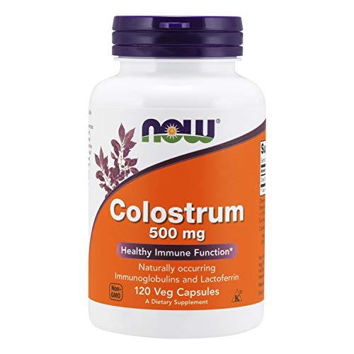 Now Foods Suplemento Alimenticio Colostrum, 500Mg - 120 Cápsulas