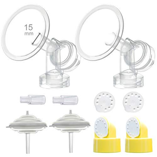 Protector de mamas Maymom para Medela Freestyle Pumps (15mm flange)