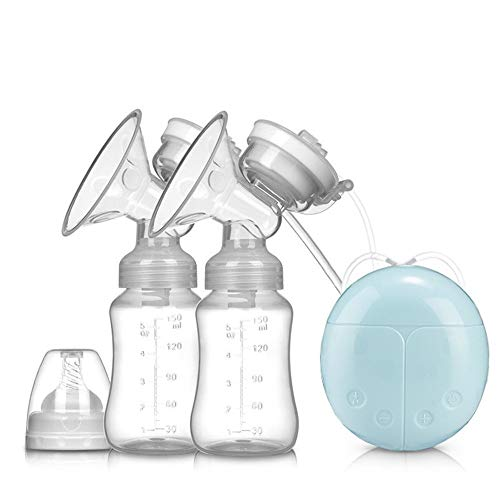 Bombas de Lactancia Extractor de leche eléctrico de la bomba de lactancia materna portátil recargable inteligente automática de ordeño...