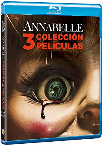 Annabelle Colección 3 Películas Blu-Ray [Blu-ray]